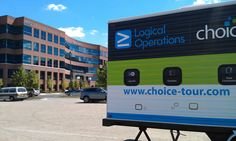Our mobile classroom outside of NH Columbus offices in Ohio.