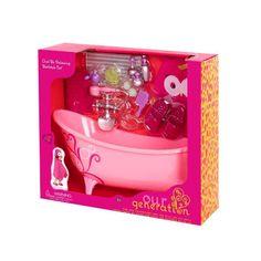 Our Generation Bathtub Accessory - Owl Be Relaxing Bathtub Set : Target Cosas American Girl, American Girl Doll Pets, Bathtub Accessories, Doll Accessories, Play Doh, Girl Dolls, Baby Dolls, Unicorn Phone Case, Baby Doll Nursery
