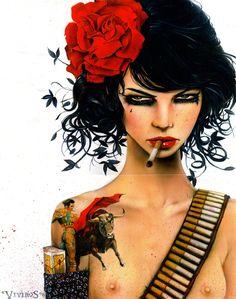 Viveros Girls of Rebellion