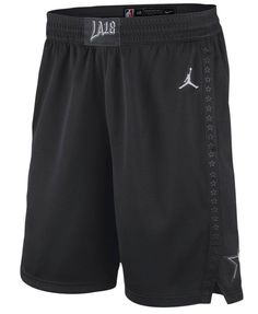 Jordan NBA All Star Icon Edition Swingman Shorts Mens L Black  Nike   AllStar Jordans 0b3cc8a8a5b
