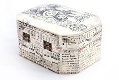 Christmas Wooden Box Treasury Box  Jewelry box  by MyHouseOfDreams, $26.00