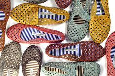 Weaved shoes