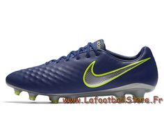 promo code 5e702 d479b Nike Magista Opus II 843813 409 Bleu royal Chaussure de football à crampons  pour terrain sec -