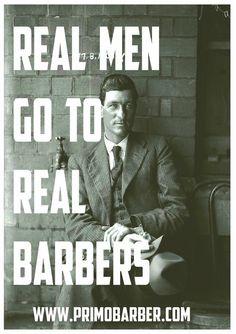 Real barbers