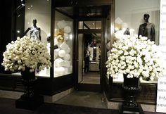 yves st. laurent Store paris | The outside of the Yves Saint Laurent store is visible during the ...