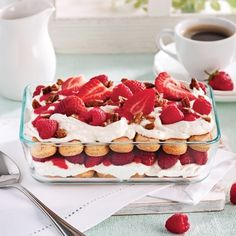 Tiramisu aux fruits - Recettes - Cuisine et nutrition - Pratico Pratique