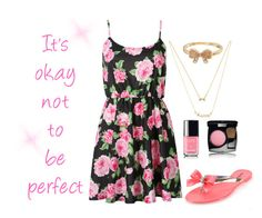 """""""Summer #13"""" by hannahdance-1 ❤ liked on Polyvore featuring Elorie, Mudd, Glamorous and Chanel"""