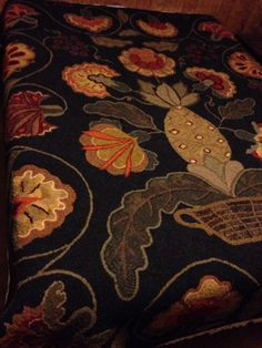 My thankful bed rug is done.