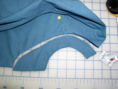 changing the neckline of a t-shirt