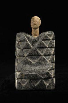 Bactria-Margiana (current Afghanistan or Turkmenistan), Idol, stone, c. 2500/1800 BC.