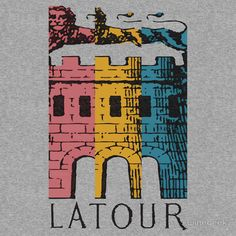Great gift for the wine geek! Latour T-shirt