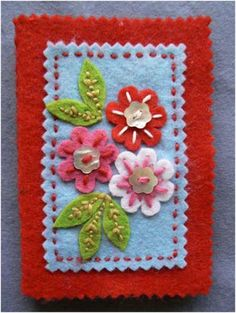 Needle case by Cath Kidston: Needle case by me: