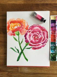Watercolor Art, Art Work, Design Art, Etsy, Artwork, Work Of Art, Watercolor Painting, Watercolour