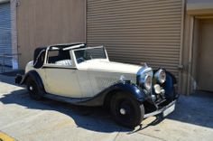 1937 Bentley 4.25 liter Sedanca Deville 2 door. Extremely rare. Only handful  of Sedanca Deville were made. Highly collectible. Just came out of estate. Has been sitting in storage for last 10 years. For only $135,000. Tel:718-545-0500
