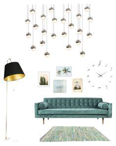 Haoshi by ona220885 on Polyvore featuring polyvore, interior, interiors, interior design, home, home decor, interior decorating, Sonneman, John-Richard and Wilder California