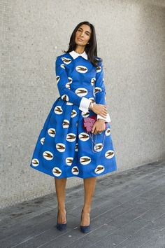 Street Chic at the Vogue Festival