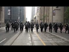 G20 Protests in Toronto Turn Ugly - YouTube