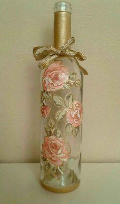 Botellas decoradas - 14