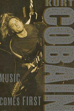 Maxi Poster 91.5cm x 61cm new and sealed Kurt Cobain Smoking
