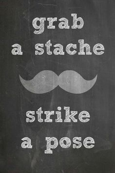Joy Is At Home: Burlap & Chalkboard Themed Mustache Bash including Free Printables! @Nicole Kuiper