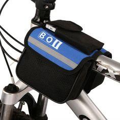 Cycling Gear Bag - top tube saddle bag -
