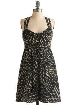 Skunkboy Creatures Dress, #ModCloth