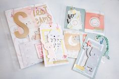 Pocket Page Letters (pocket letters) by Andrea Bethke Using Little You by Crate Paper and a little Bloom too