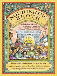 Broth and meat stock are some of the most gut-healing foods there is, and nutrient-dense! Nourishing Broth: An Old Fashioned Remedy for the Modern World by Sally Fallon Morell and Kaayla Daniel, recommended via Amazon affiliation: http://amzn.to/1H103Cj