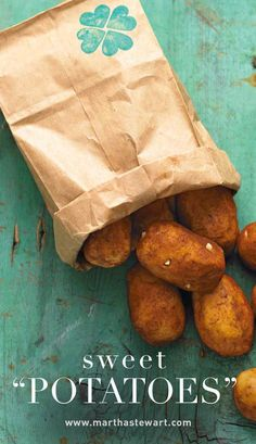 """Sweet """"Potatoes"""" 