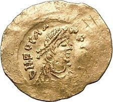 PHOCAS 602AD Gold Tremissis Constantinople Ancient Byzantine CROSS Coin i52897 https://trustedmedievalcoins.wordpress.com/2016/03/28/phocas-602ad-gold-tremissis-constantinople-ancient-byzantine-cross-coin-i52897-8/