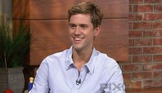 Aaron Tveit and yet another unbuttoned shirt... ;) he could undo another button...