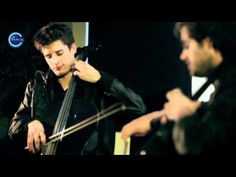 """love these 2... """"2 Cellos"""" playing U2's """"With our Without You""""... my my!"""