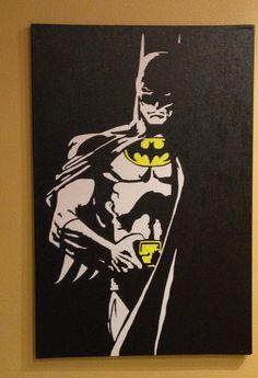 Showcase batman gifts that you can find in the market. Get your batman gifts ideas now. Batman Poster, Batman Comic Art, Gotham Batman, Batman Comics, Arte Pop Batman, Batman Painting, Batman Room, Pop Art Wallpaper, Retro Vintage