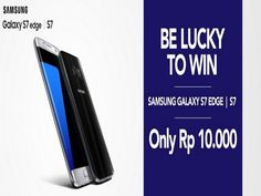 Kuis Samsung Galaxy Lucky 7 Berhadiah Samsung Galaxy S7 Edge - Kali ini, Mister mau memberikan info kuis berhadiah Samsung Galaxy S7 Edge