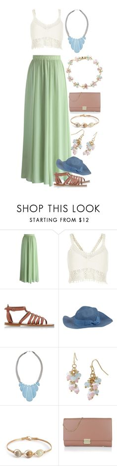 """""""Coachella Vibes"""" by music-and-fashion-111 ❤ liked on Polyvore featuring Chicwish, River Island, K. Jacques, Altea, John Lewis, Mixit and BOSS Hugo Boss"""