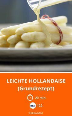 Leichte Hollandaise - (Grundrezept) - smarter - Kalorien: 122 Kcal - Zeit: 20 Min.   eatsmarter.de