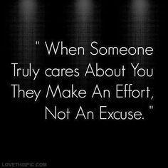 Make an effort, not an excuse quotes quote quotes and sayings image quotes picture quotes
