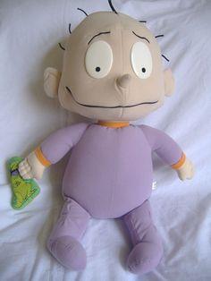 "27"" Big Rugrats Dil Pickles Plush 1997 Reptar Vintage #Mattel #Rugrats"