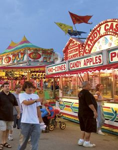 Come for the food and all the fun at the Iowa State Fair. We always go to the geauga county fair and I love it! Carnival Rides, Carnival Food, Fair Rides, Iowa State Fair, Street Fair, Fairs And Festivals, County Fair, Back In The Day, The Places Youll Go