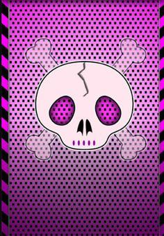 Pink skull wallpaper 02 by barbaraaldretteiantart on skull wallpaper iphone voltagebd Image collections