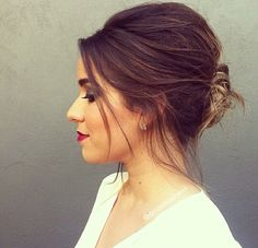 Classically elegant up do