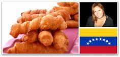 Hola: Esta vez para el Mundial Gastronómico nos ha escrito Carla Hurtado, una venezolana que nos presenta un plato típico de su país: Los Tequeños. La receta consiste en preparar una masa que recubre queso y que se fríe en aceite. El resultado es delicioso. Esta vez ha sido Vicky la que lo ha preparado …