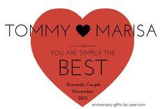 Most Romantic Couple Award