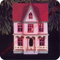 Victorian Home, Nostalgic Houses & Shops Series Hallmark Ornament, 1996. I have this one.