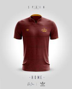 National Jerseys Concepts. Camisetas De FutebolCamisas ... b72059a53fc98