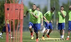 La Juventus si prepara per la sfida di Champions con il Monaco