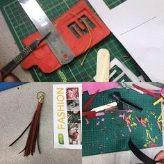 Work in progress leather taster sessions.  #leather #fashion #accessories