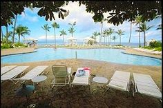 This was the hotel me and my ex stayed at on our honeymoon.  Kapalua was all about butterflies.  They unfortunately tore the place down :( Old Kapalua Bay Hotel butterfly pool