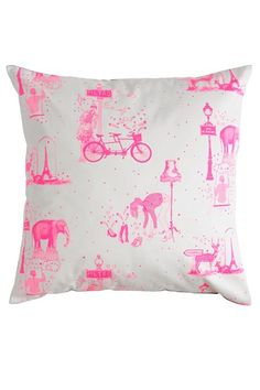 Neon Toile De Jouy - Cushions - Homewares & Home Furnishings (EasyLiving.co.uk)