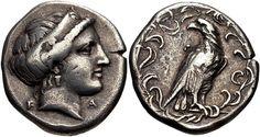 """Ioannis Tz sur Twitter : """"Στατηρας της Ολυμπιας με τη μορφη της Ηρας και αετου…"""